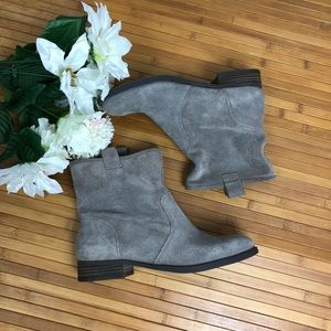 Sole society Natasha suede/leather bootie *read*